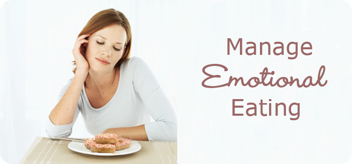 woman emotional eating