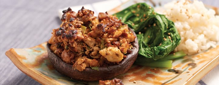 Flavorful Portobello Mushrooms
