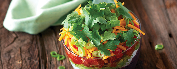 Seven-Layer Dip Done Light