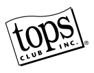 TOPS Club, Inc. Black and White